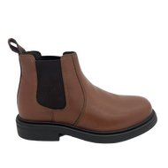 Kids Dealer Boots Tan Leather