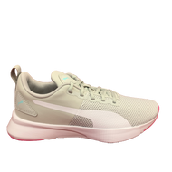 Puma Light Grey Pink Trainer FLYER 192257