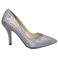 Una Healy Court Shoe Pearlescent Iris Grey TAKE IT EASY