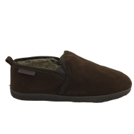 Hush Puppies Mens Warm Lined Brown Slippers ARNOLD