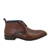 Lloyd & Pryce Tommy Bowe Mens Tan/Whiskey Dress Boot LOFTUS