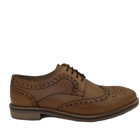 Hush Puppies Mens Tan Brogue BRYSON