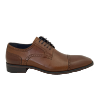 Lloyd & Pryce Tommy Bowe Mens Tan Dress Shoe FIRHILL