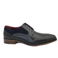 Escape Mens Navy Laced Shoe CARNERA