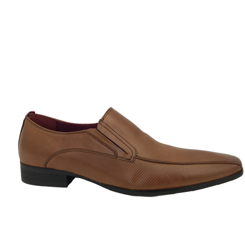 Escape Mens Tan Slip-On Shoe TOBY