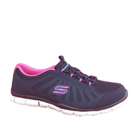 Skechers Ladies Sport-Active Slip-On Navy/Hot Pink 104150/NVHP