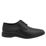 Hush Puppies Mens Black Laced Shoe EZRA