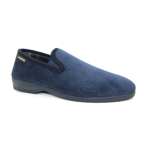 Goodyear Mens Navy Slippers EMMITT
