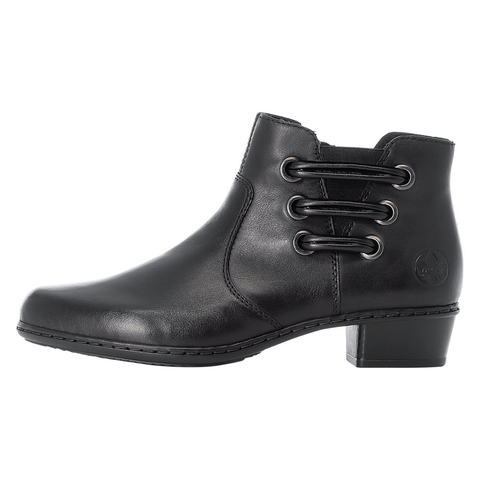Rieker Black Warm Lined Ankle Boot Y07B0-00