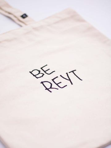 BE REYT Organic Tote Bag