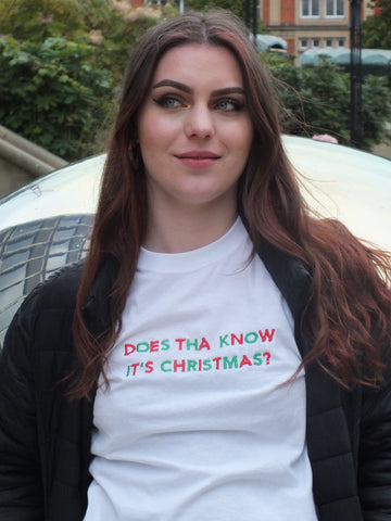 'DOES THA KNOW IT'S CHRISTMAS' T-Shirt