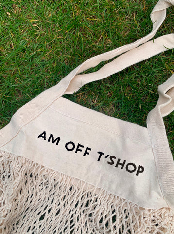 AM OFF T'SHOP Organic cotton bag