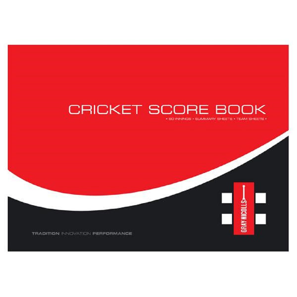 Scorebook (60 innings) - Gray-Nicolls Sports