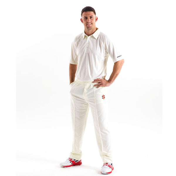 Legend Mid Sleeve Shirt - Gray-Nicolls Sports