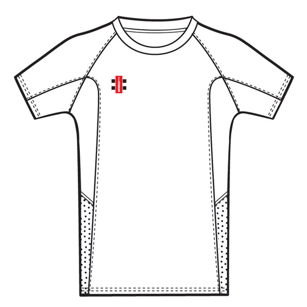White Pro Performance T Shirt - Gray-Nicolls Sports