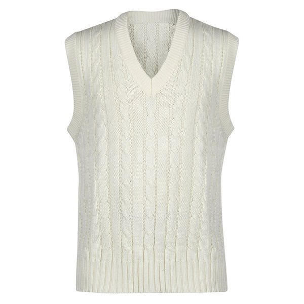 Sleeveless Sweater Plain - Gray-Nicolls Sports
