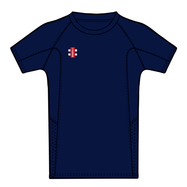 Navy Pro Performance T Shirt - Gray-Nicolls Sports