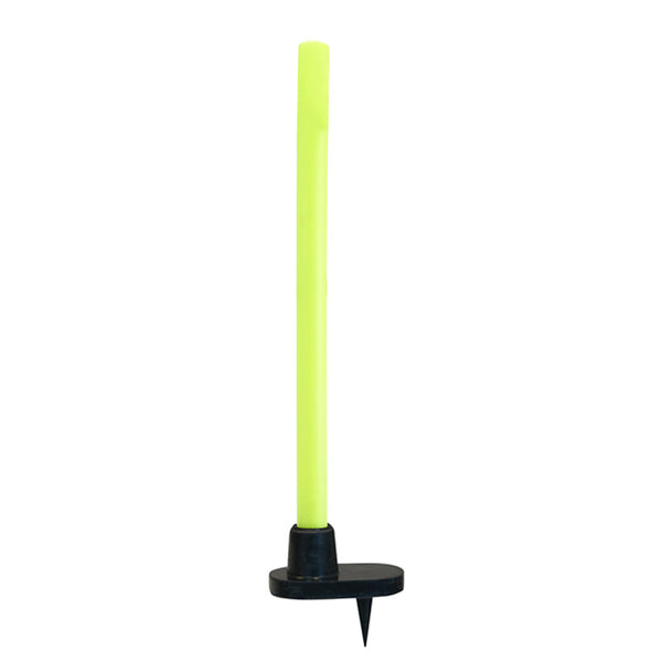 Target Stump - Single Plastic with Rubber Base - Gray-Nicolls Sports