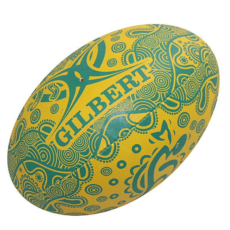 Wallabies Indigenous Supporter Ball - Gray-Nicolls Sports