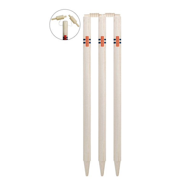 Senior Wooden Club Stumps with String Bails - Gray-Nicolls Sports