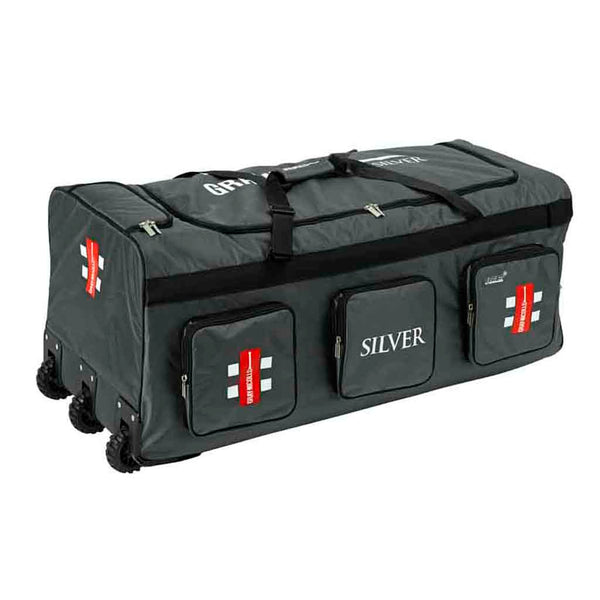 Silver Wheel Bag - Gray-Nicolls Sports