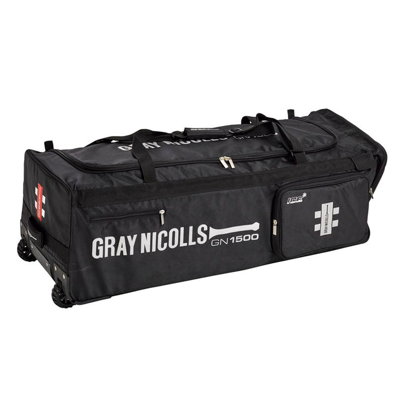 GN 1500 Wheel Bag-Black (2020) - Gray-Nicolls Sports