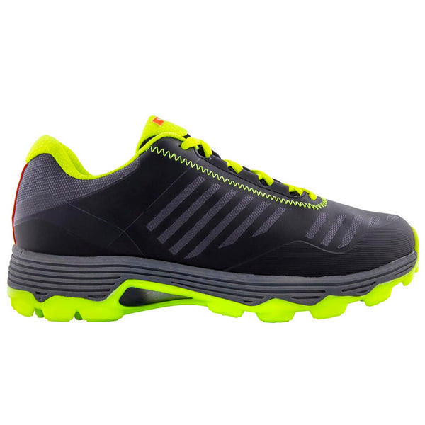 Black/Yellow Burner Hockey Shoes - Gray-Nicolls Sports