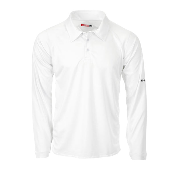 Legend Long Sleeve Shirt - Gray-Nicolls Sports