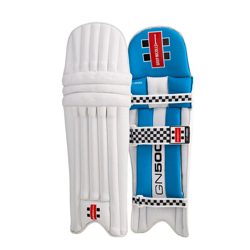 GN500 Legguards Blue - Gray-Nicolls Sports