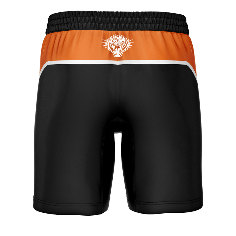 West Tigers 2021 Mens Replica Training Shorts - Gray-Nicolls Sports
