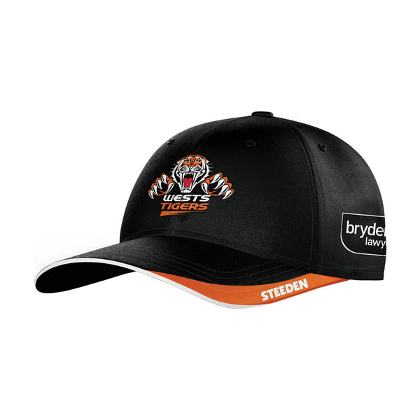 Wests Tigers Retail 2021 Media Cap (One Size) - Gray-Nicolls Sports