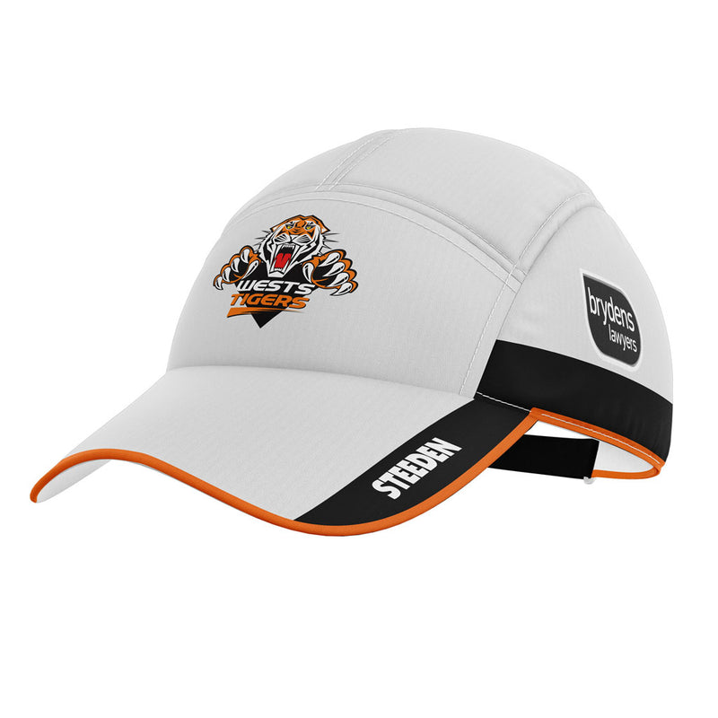Wests Tigers Retail 2021 Players Replica Training Cap (One Size) - Gray-Nicolls Sports
