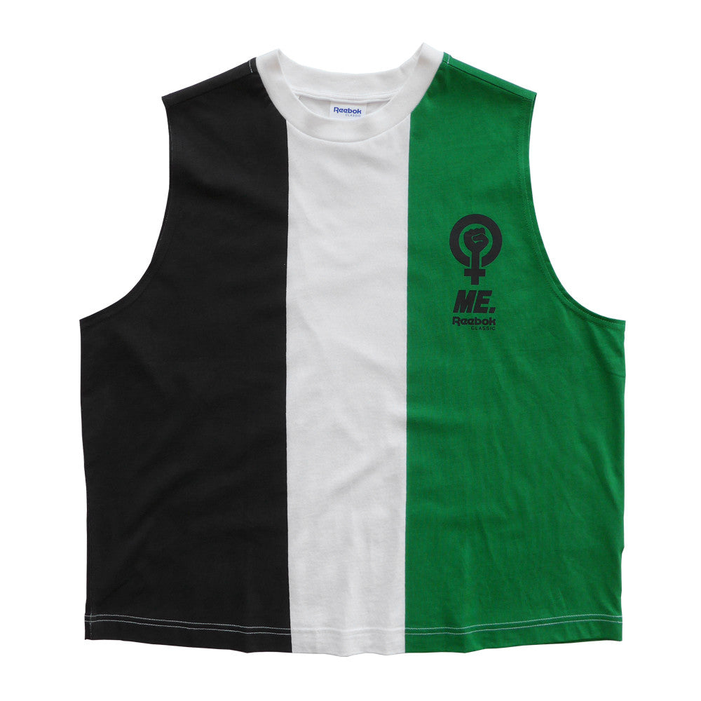 reebok vest. me. for reebok tri-color muscle tank (available in 2 colors) vest a