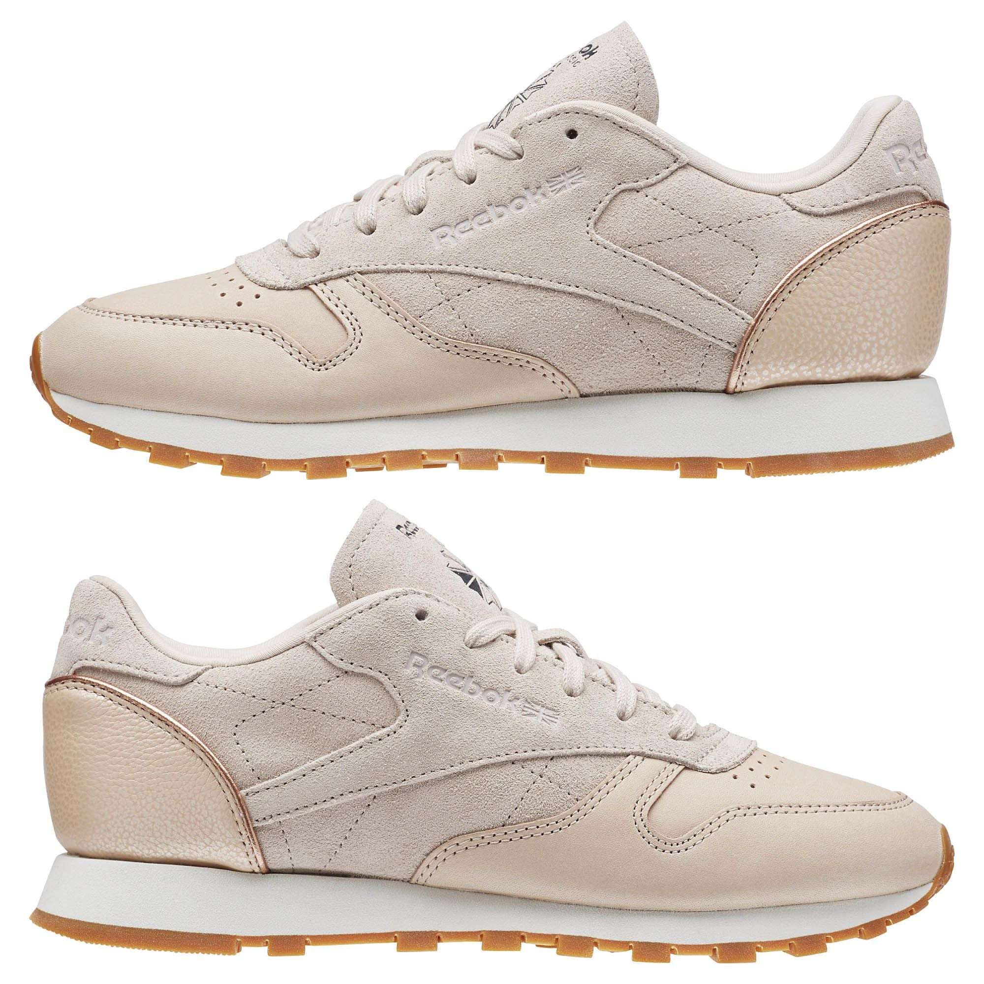eb22d1d976a reebok classic leather golden neutrals welcome