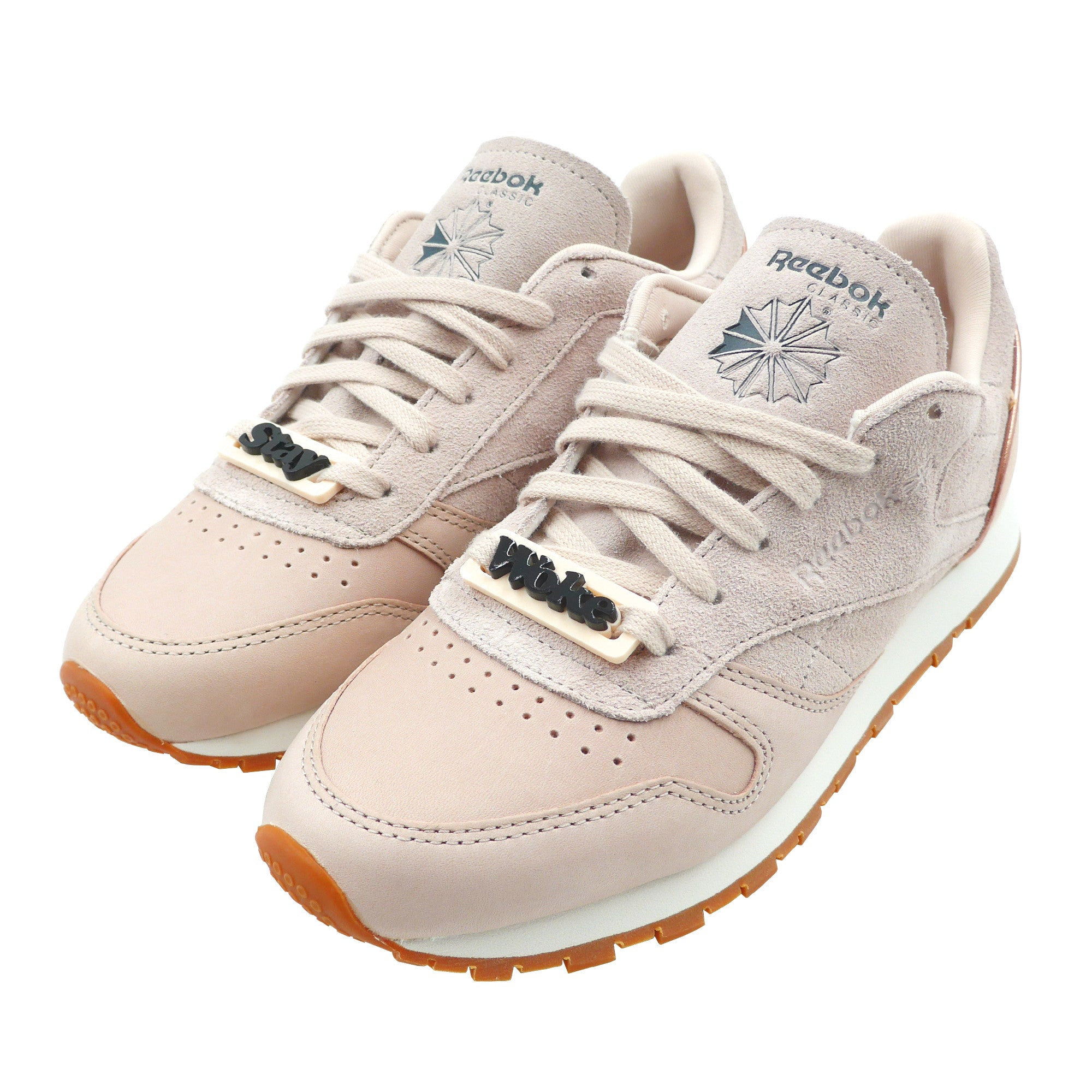 0277e7911b4 reebok classic leather golden neutrals welcome