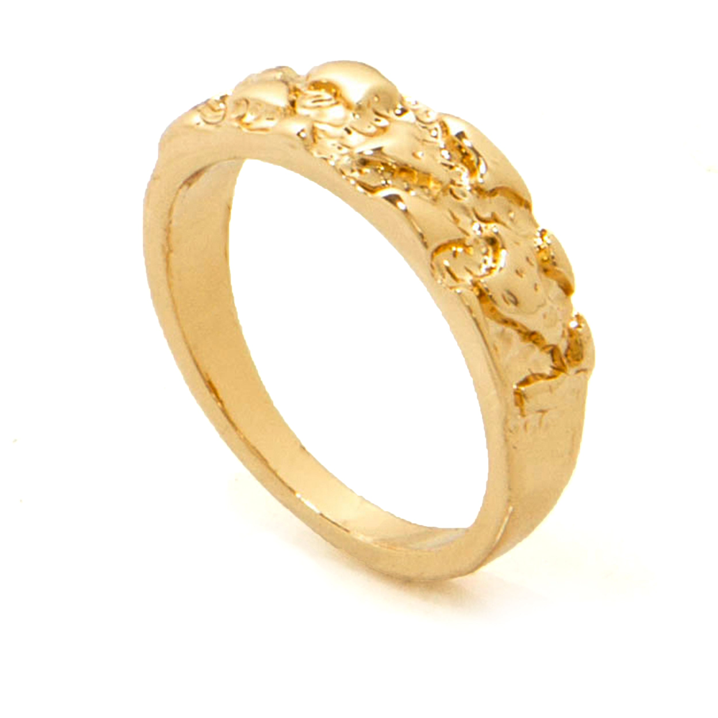 ring products tree round small stamp medallion mango diamond shop rings