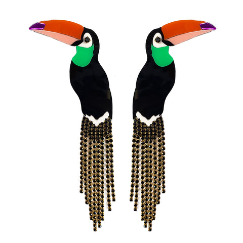 241f1bf18 If One Can, Toucan Earrings ...