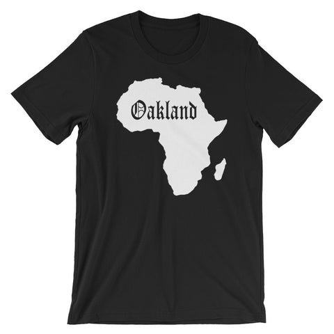 African from Oakland Short-Sleeve T-Shirt