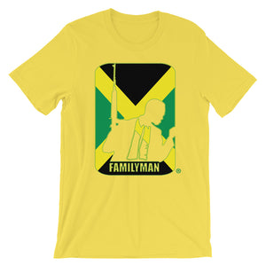 Jamaica Yellow Familyman Short-Sleeve Unisex T-Shirt