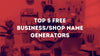 Benefits Of Using Online Store Name Generator & Our Top Picks!!