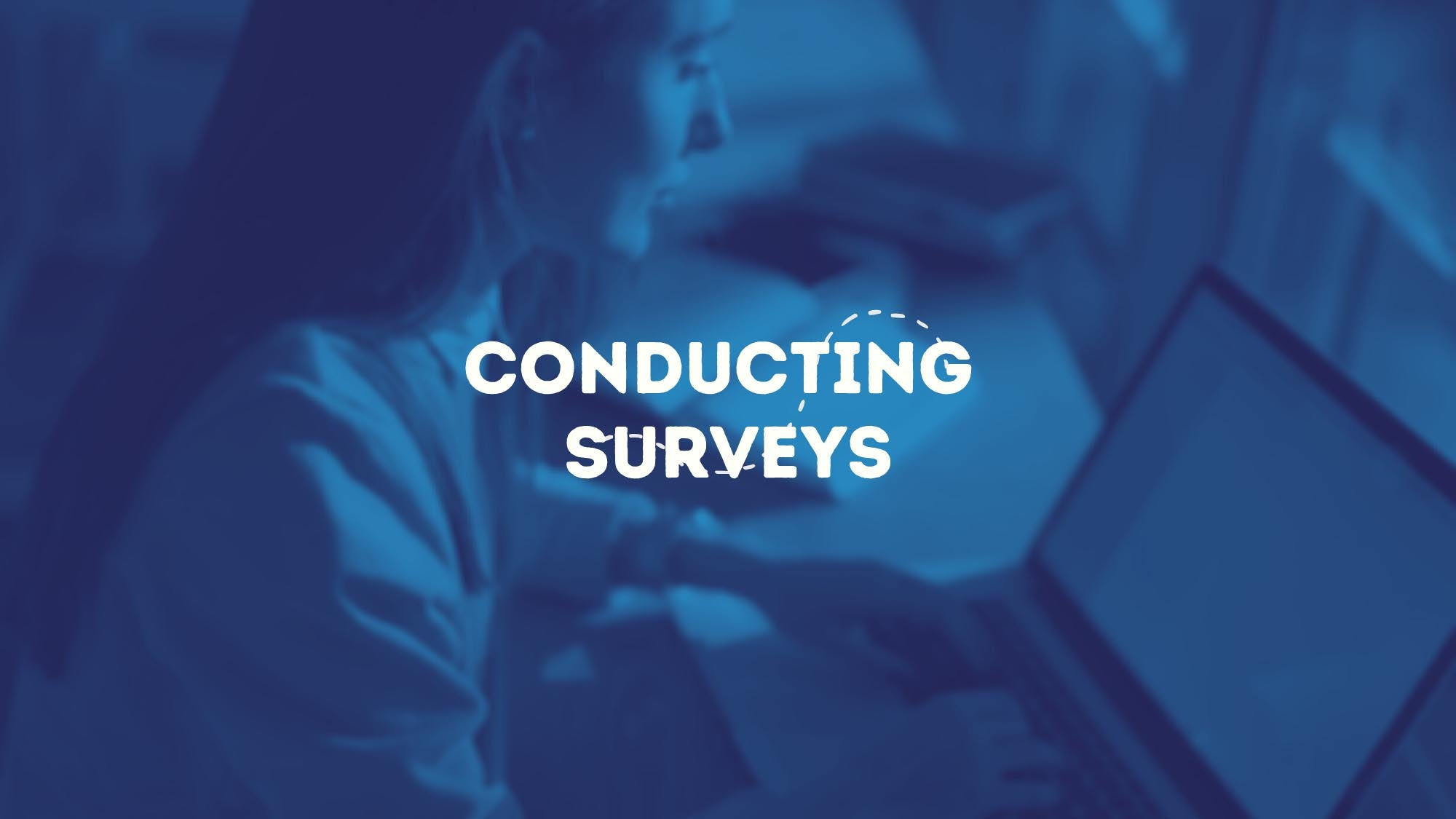 Conducting Surveys - Dropship USA