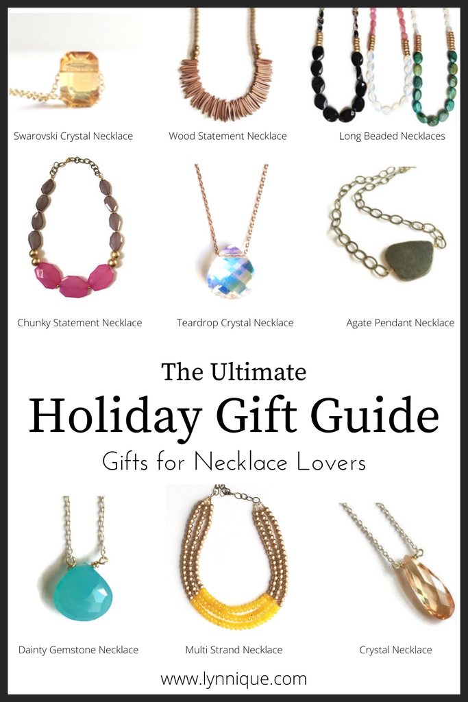 The Ultimate Holiday Gift Guide - Gifts for Necklace Lovers