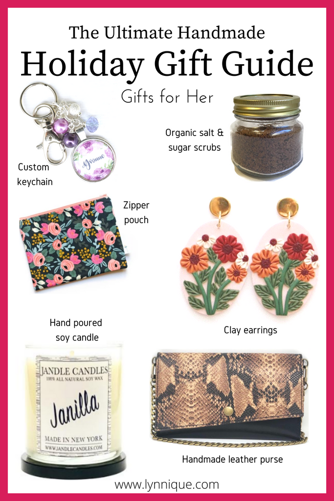 The Ultimate Handmade Holiday Gift Guide - Gifts for Her