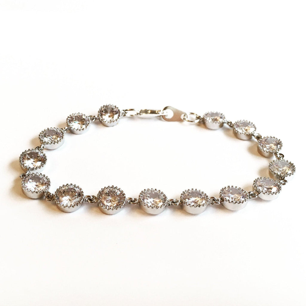 The Olivia Wedding Jewelry Bracelet