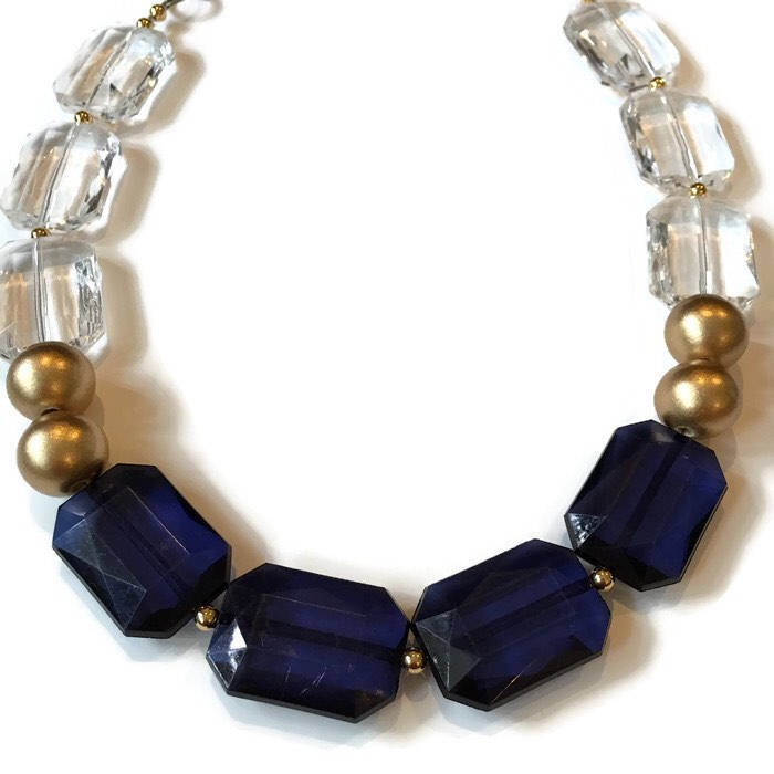 Chunky Sapphire Necklace