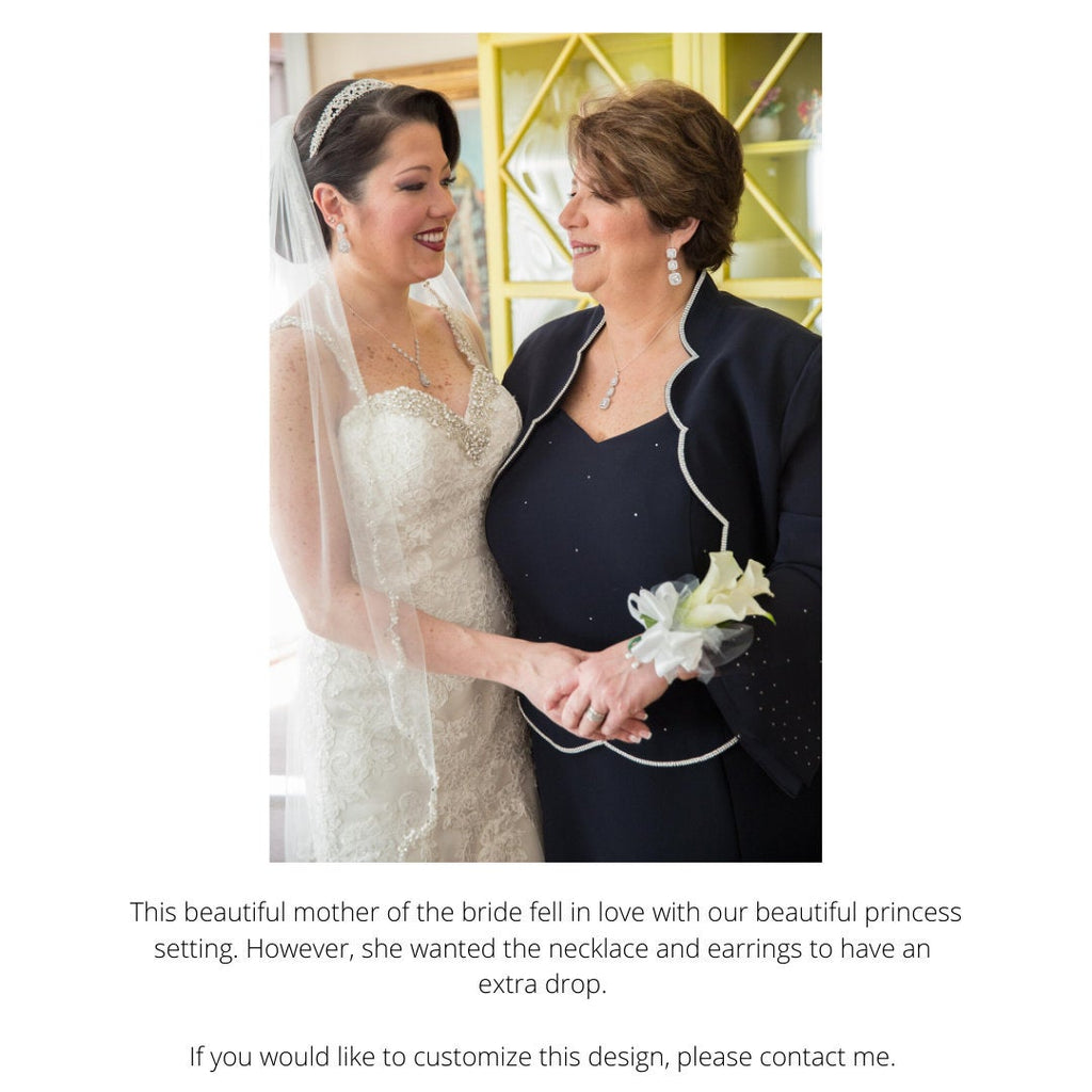 The Jennifer Wedding Necklace
