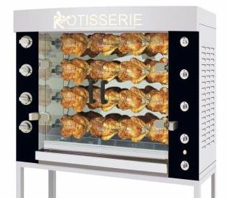 Rotisol - 1160.4P - Performance Gas Rotisserie