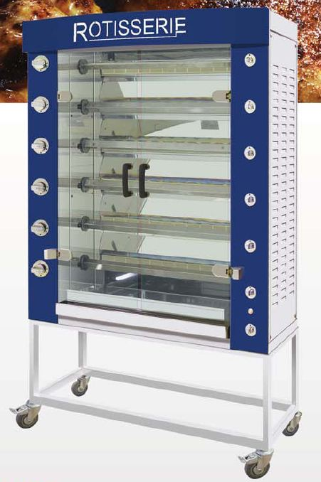 Rotisol 1160.6P - Performance Electric Rotisserie