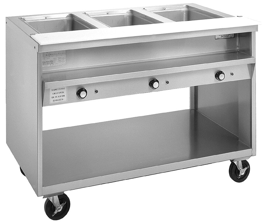 3600 Series Individual Sealed Well Hot Food Tables
