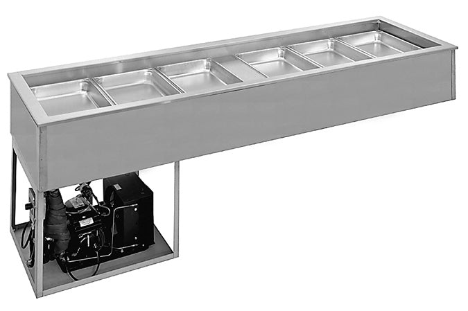 Randell - Mechanically Cooled Cold Pan, Slim Line